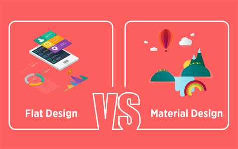 flat design vs material design the design war