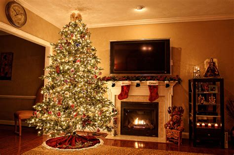 Fireplace With Tree by Awesome Light Tree With Fireplace Ideas