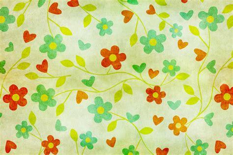 Motif Flower floral wallpaper motif vintage photo stock libre