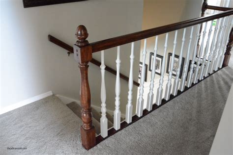 How To Stain An Oak Banister The Idea Room
