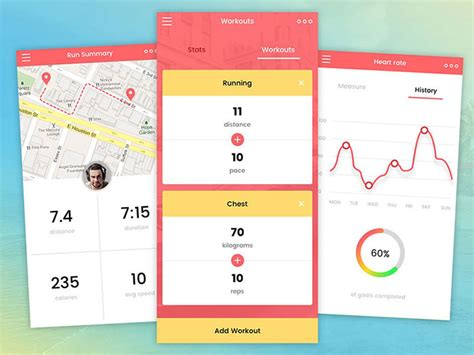 ui layout ignore mobile ui design inspiration charts and graphs