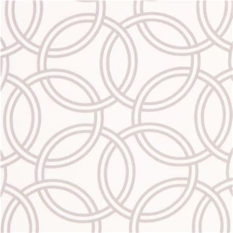 Gorden Ring Motif Ranium White white ring pattern cotton sateen fabric michael miller dots stripes checker fabric