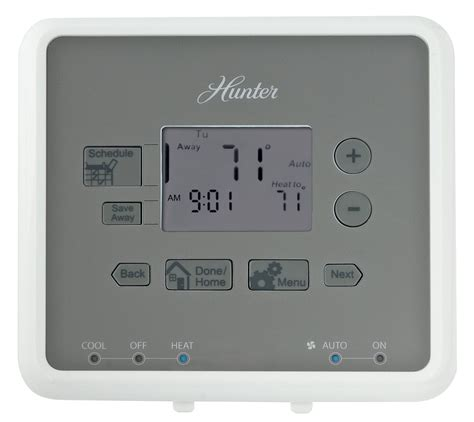 hunter fan thermostat instructions how to program hunter thermostat download free