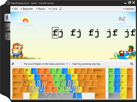 keyboard typing tutorial free download portable rapid typing tutor 4 6 5 windows apps