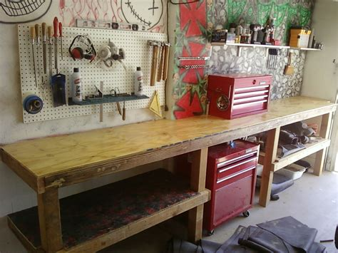 workshop work bench maximize your workbench 10 steps