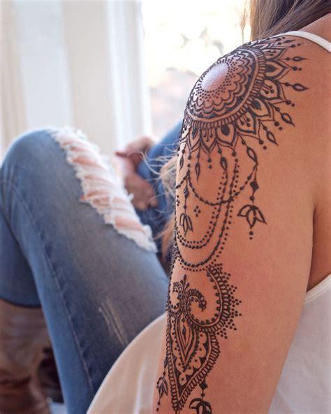 henna tattoos selber machen henna selber machen tipps zum auftragen 35