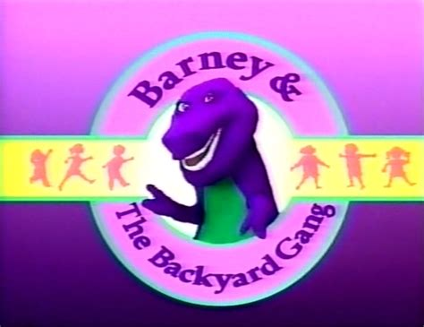 barney and backyard gang barney and the backyard gang the complete series barney