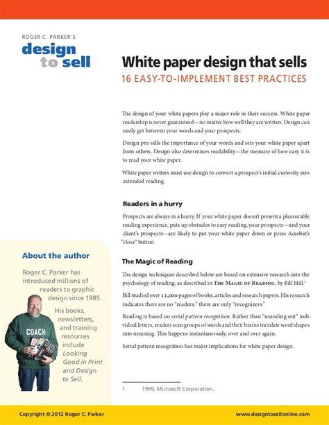 marketing white paper template marketing white paper template new resume format template