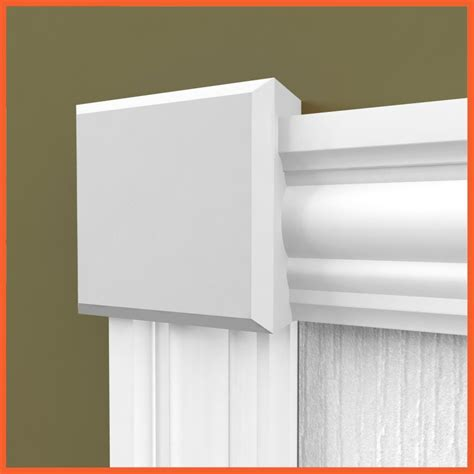 Window Plinth Edge Rosette Skirting 4 U