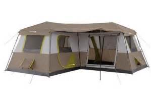 12 person large cing tent 3 rooms hiking family cabin