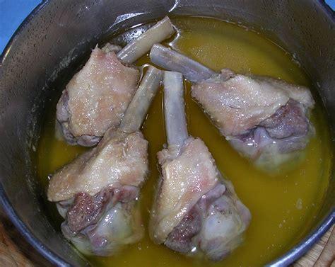 cuisiner les manchons de canard manchons de canard confits