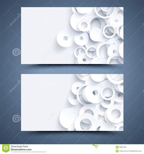 Card Templates Front And Back by White Business Card Template Abstract Background Royalty