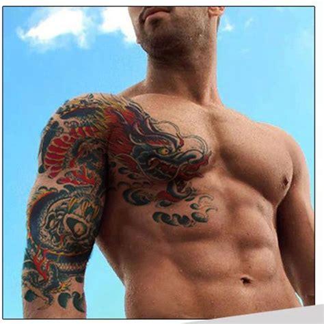 tattoo of us real or fake popular dragon shoulder buy cheap dragon shoulder lots