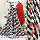 Baju Jumbo Stripes gamis cantik murah b103 malika syar i baju muslim motif