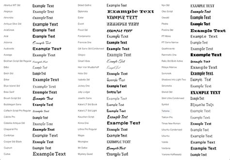 html5 typography fifty new html5 compatible fonts now available for your