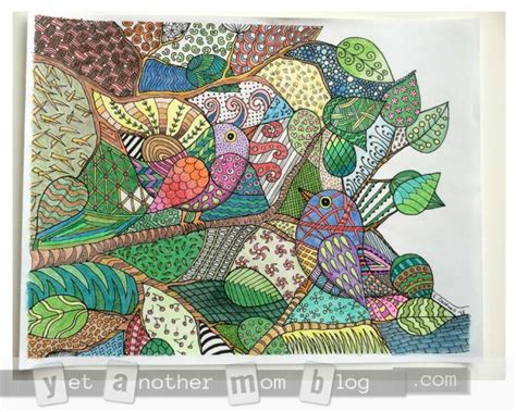 coloring pages for adults finished free coloring pages for april 2015 geometric patterns