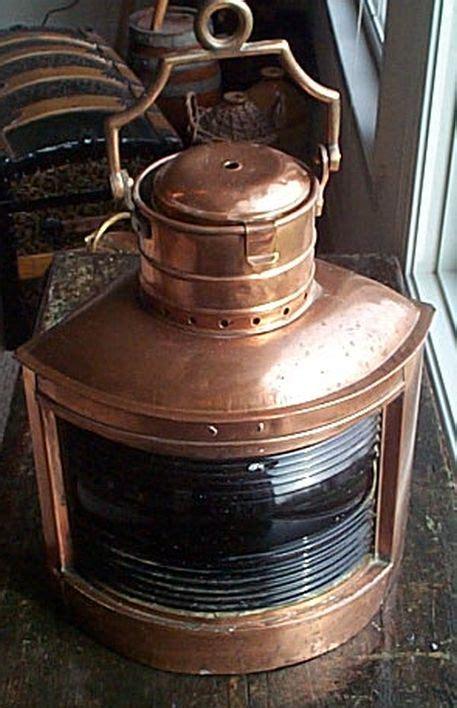 brass navigation lights for sale antique ships navigation light green starboard light for sale