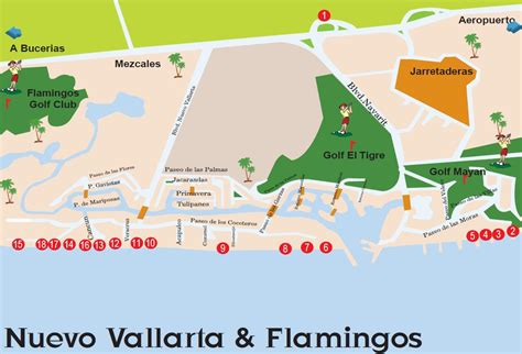vallarta map of mexico best of nuevo vallarta maps