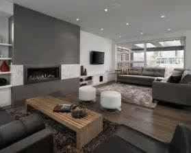 Grey Living Room Home Design Ideas, Pictures, Remodel and Decor