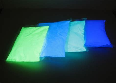 glow in the powder into paint glow in the car paint powder pigment wholesale glow