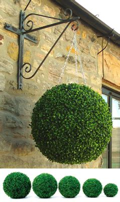 real topiary balls 1000 ideas about artificial outdoor plants on