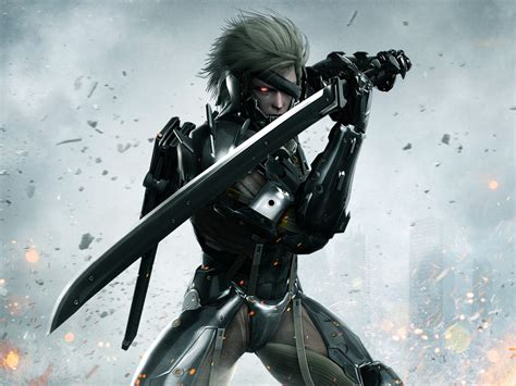 Kaos Raiden Metal Gear Rising raiden promotional artwork