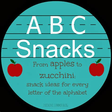 5 Dishes To Start The Week With by Zucchini Summer 27 Snacks For W X Y Or Z