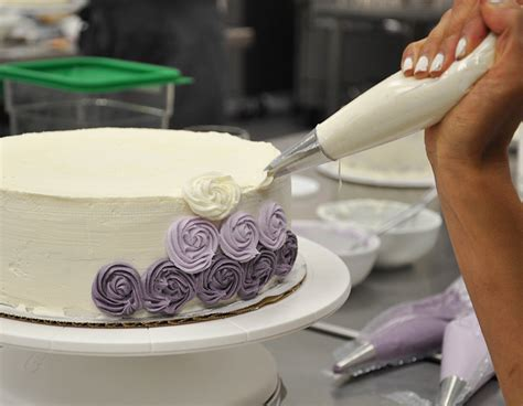 Cake Bake And Decorate by A New Professional Pastry Program At The Sf Cooking School Dessert