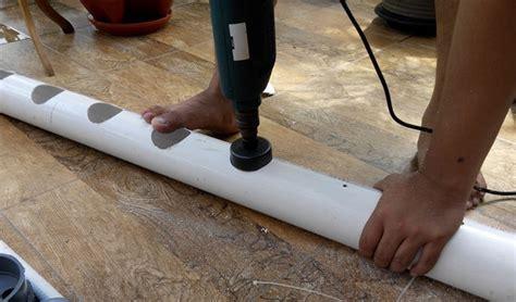 Mesin Bor Hidroponik cara membuat hidroponik dengan paralon 5 tahapan