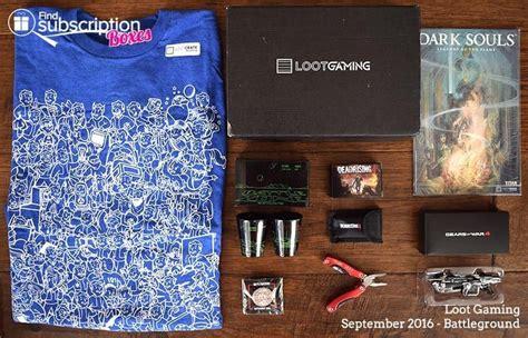 Loot Gaming Crate Exclusive Battleground Pin Badge Original Sealed september 2016 loot gaming subscription box review