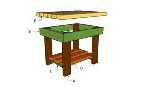 table plans small: download outdoor small table plans plans free
