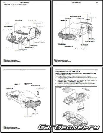 vehicle repair manual 1992 toyota paseo free book repair manuals кузовные размеры toyota paseo el44 1992 1995 collision repair manual