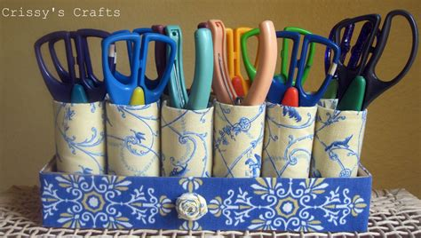 Recycled Toilet Paper Roll Crafts - s crafts recycle tp pencil scissors holders