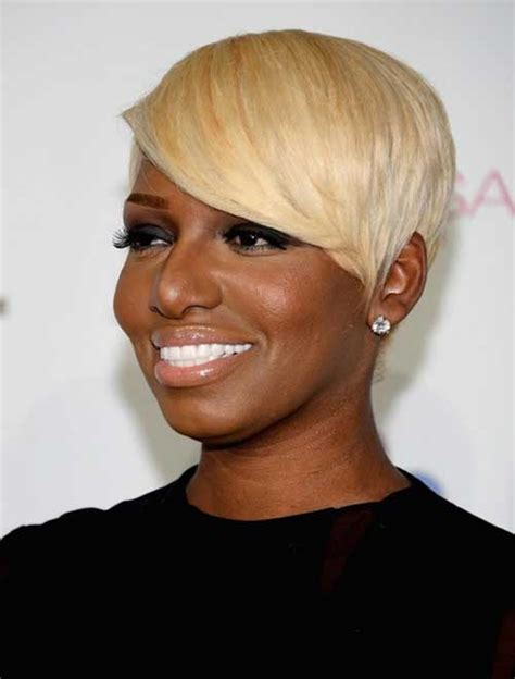 short hairstyle blonde in front black in back 15 short blonde hairstyles for black women short