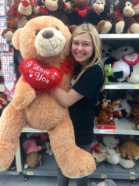 walmart day teddy bears khq today valentine s day at walmart