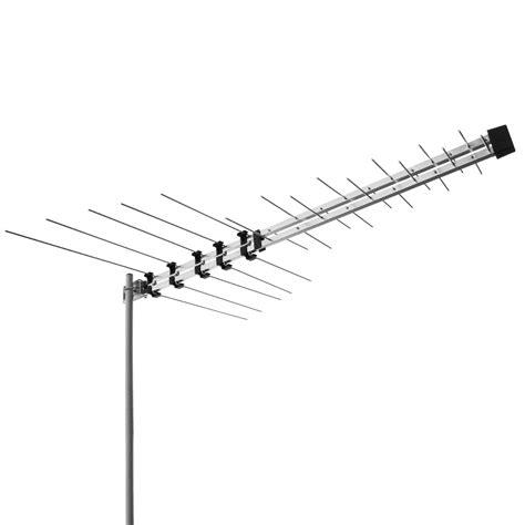 Antena Tv Uhf Digital 32 element log periodic tv antenna vhf uhf fm hdtv digital ready aerial 32ant selby