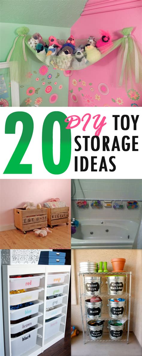 diy toy storage ideas 20 simple and affordable diy toy storage ideas