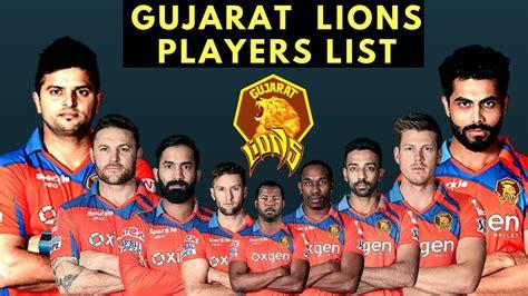 2017 all time photo player list ipl t20 2017 gujarat lions players list team in ipl