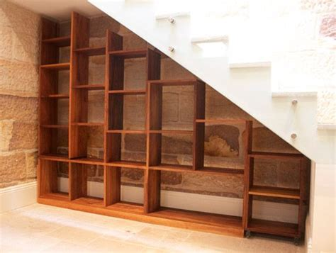 stairs bookcase decor