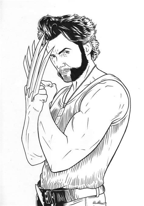 Imagenes De Wolverine Para Pintar | desenhos para pintar do wolverine desenhos para colorir