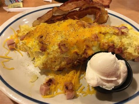 country omelet country omelette with sour picture of ihop