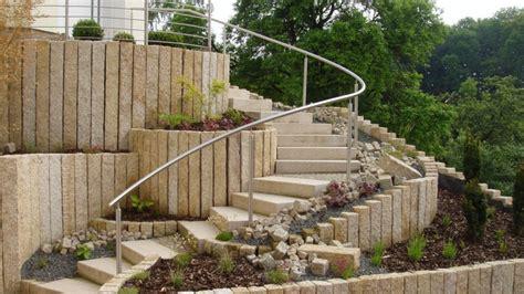 treppe garten hang gartentrends hanggarten kleineberg galabau herford