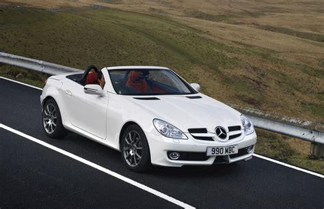 mercedes benz slk roadster review   parkers