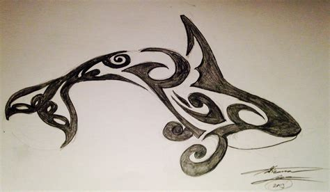 orca tribal tattoo by adribelle35 on deviantart