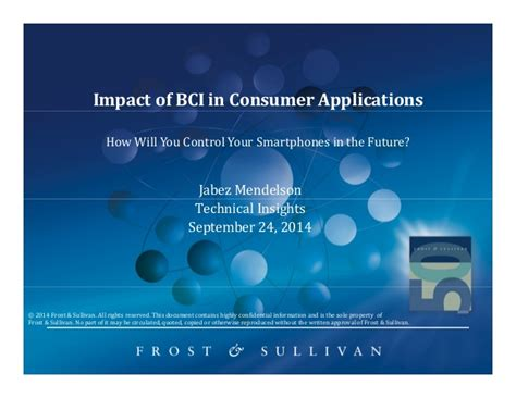 What Does Impact On A Application Impact Of Bci In Consumer Applications