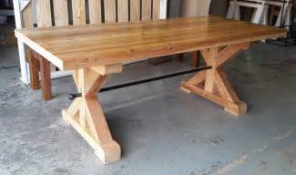 solid reclaimed oregon farm style dining table tables