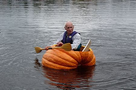 pumpkin boat weird vegetables somebody take this obese pumpkin please