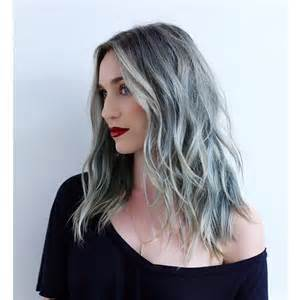 hair with silver highlights adding silver streaks to hair dark brown hairs
