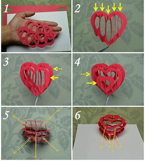 pop up greeting card tutorials s day pop up card 3d detailed tutorial