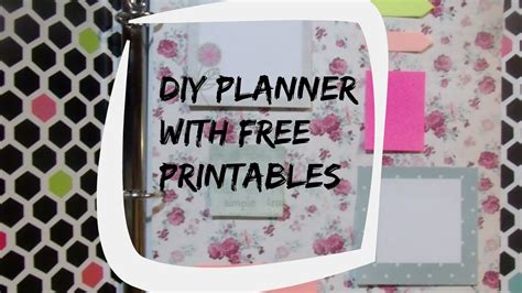 Diy Planner Printables